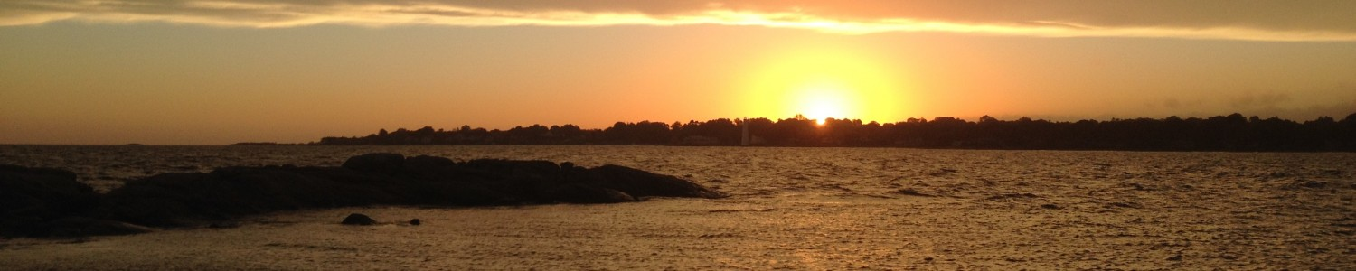 Avery Point Sunset